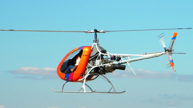 Helicycle turbine powered kit helicopter