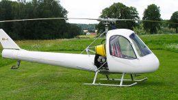 KR-1 NOTAR helicopter Czech Republic