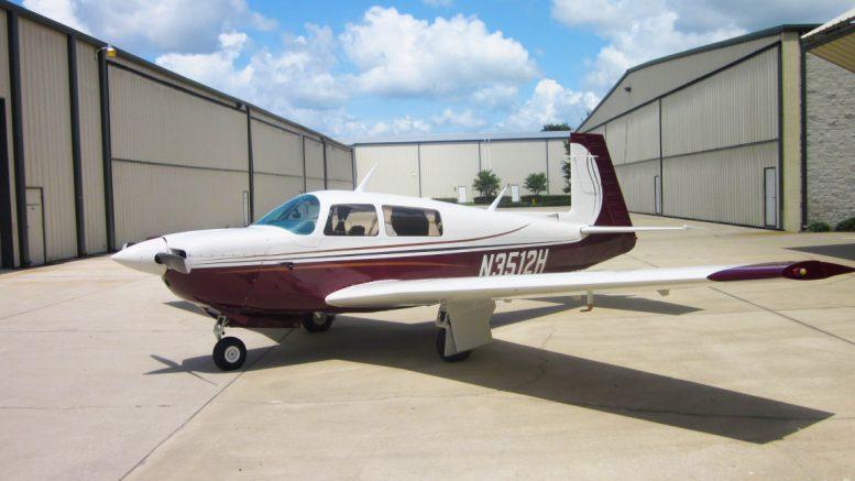 Mooney M20 aeroplane