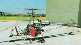 Registered Skytwister plans built helicopter
