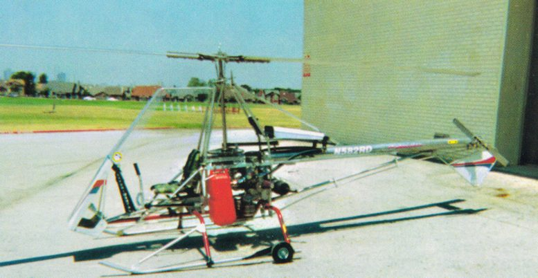 Registered Skytwister plans built helicopter
