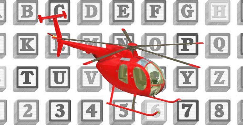 Learn your aviation alphabet