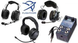 Flightcom headsets for sale online