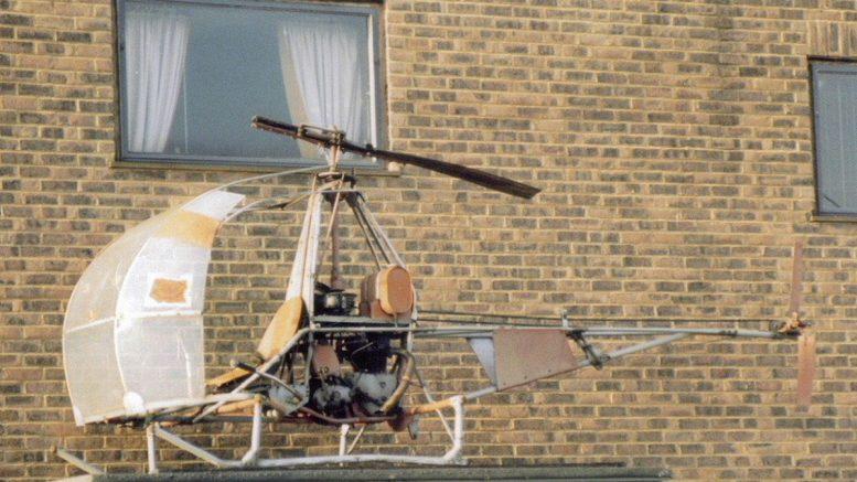 Original DIY Choppy helicopter