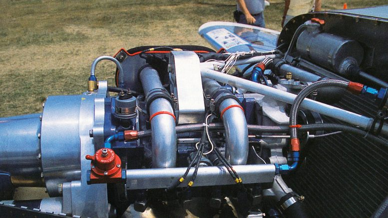 Powersport aircraft rotary engine