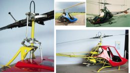 Scorpion homebuilt helicopter rotor system