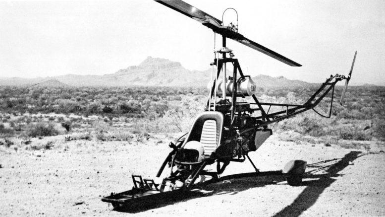 B.J.Schramm Rotorway Scorpion helicopter kit