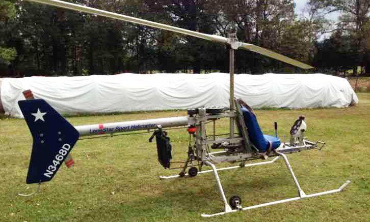lonestar kit helicopter for sale