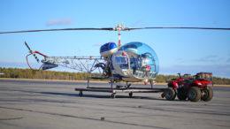 Bell 47D dynamic rollover