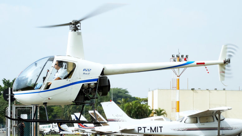 R22 helicopter training