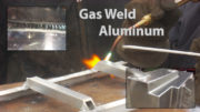 gas welding aluminum alloy