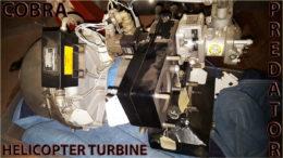 Solar model T-62T-2A1 titan gas turbine engine