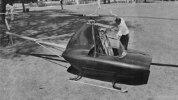 Schramm Javelin personal helicopter