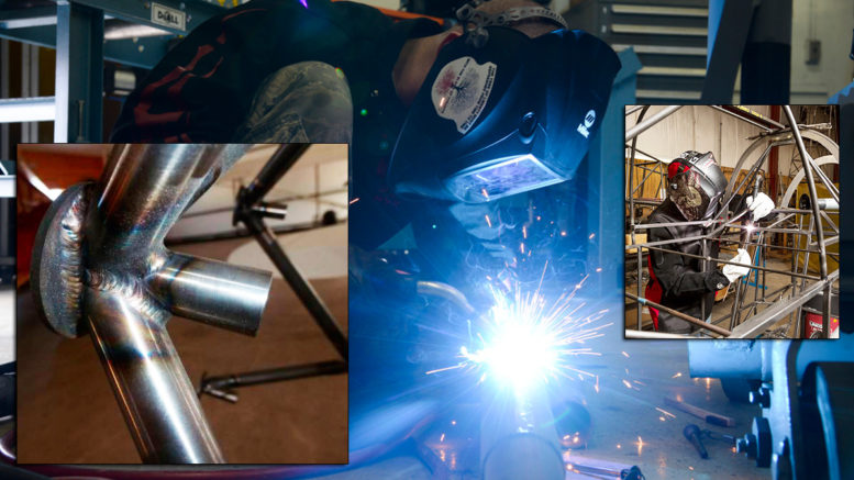 learn to weld aircraft airframes