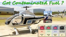 contaminated fuel 1999 Rotorway Exec 162F