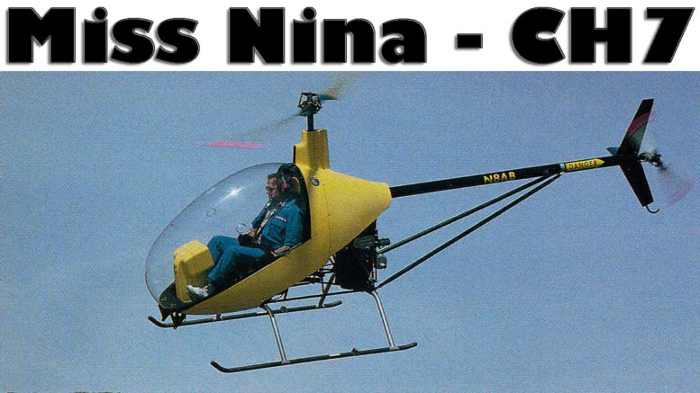 miss nina ch7 helicopter