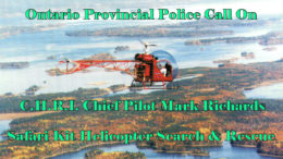 police call on safari kit helicopter