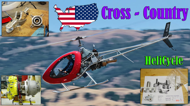 cross-country helicycle helicopter