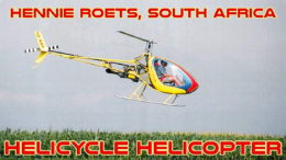Hennie Roets South Africa Helicycle
