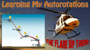 learning helicopter autorotations